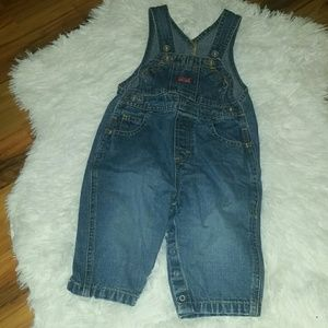 Baby Old Navy overalls size 6-12 months.